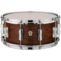 Ludwig Standard Maple Snare Drum - 6.5x14, Aged Chestnut