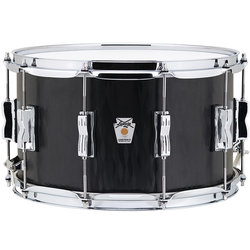 Ludwig Standard Maple Snare Drum - 8x14, Black Flame