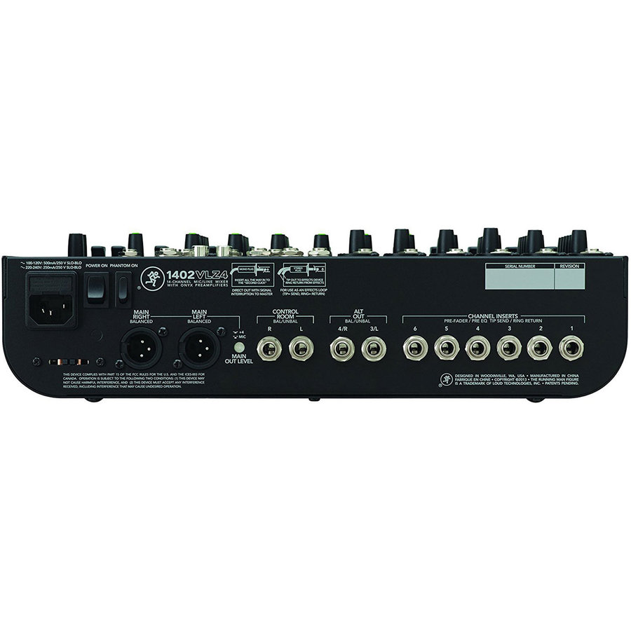 View larger image of Mackie 1402VLZ4 14-Channel Compact Mixer