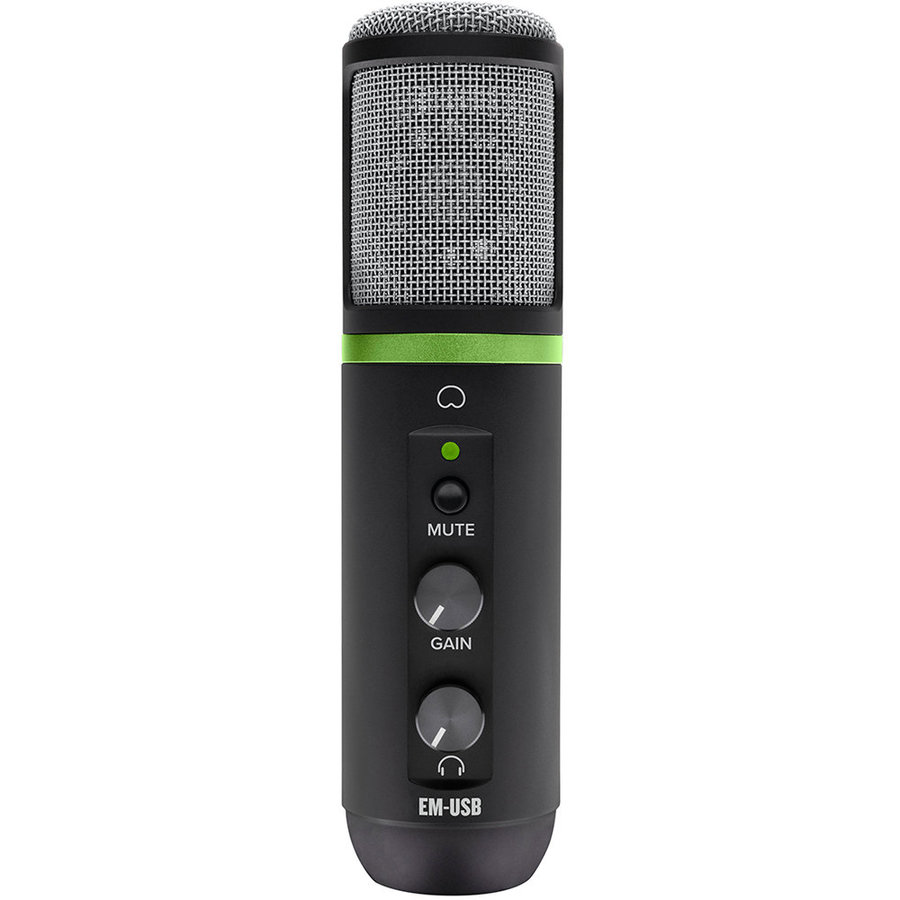 View larger image of Mackie EleMent USB Condenser Microphone