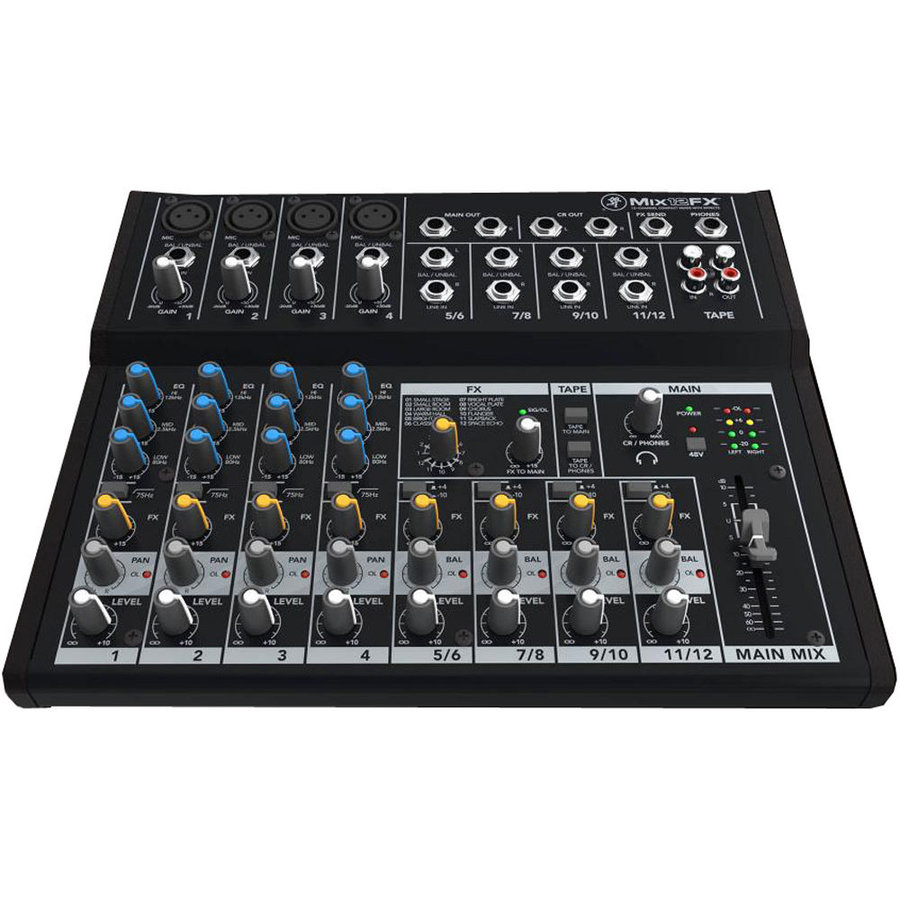 View larger image of Mackie Mix12FX 12-Channel Compact Effects Mixer