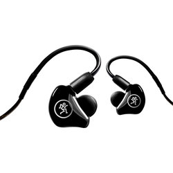 Mackie MP-240 Hybrid Dual Driver Professional In-Ear Monitors - Black