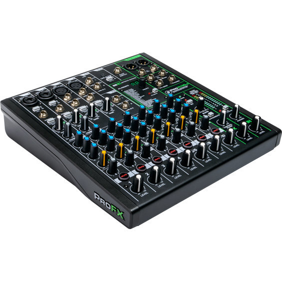 View larger image of Mackie ProFX10v3 10-Channel Effects Mixer