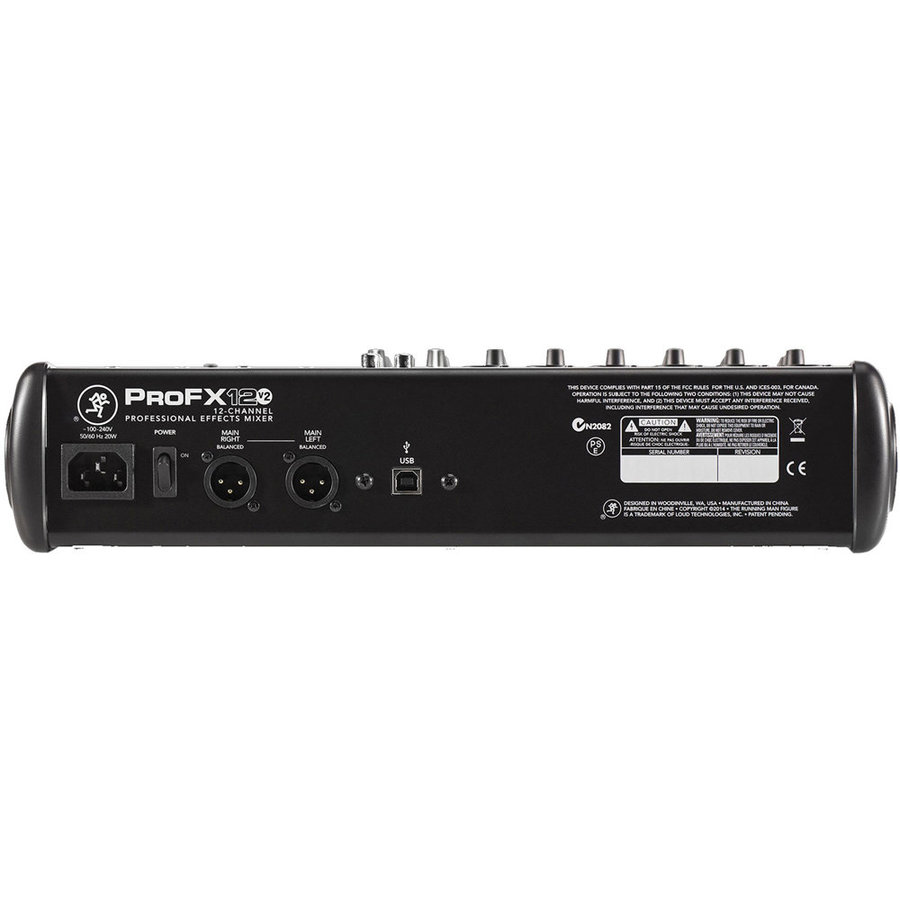 View larger image of Mackie ProFX12v2 12-Channel Professional Effects Mixer