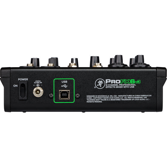 View larger image of Mackie ProFX6v3 6-Channel Professional Effects Mixer