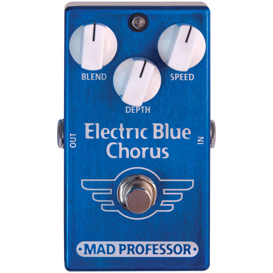 View larger image of Mad Professor Electric Blue Chorus Pedal