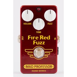 Mad Professor Fire Red Fuzz Hand Wired Effect Pedal