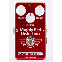 Mad Professor Mighty Red Distortion Hand Wired Effect Pedal