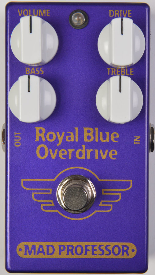 View larger image of Mad Professor Royal Blue Overdrive Effect Pedal
