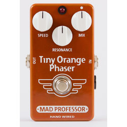 Mad Professor Tiny Orange Phaser Hand Wired Effect Pedal