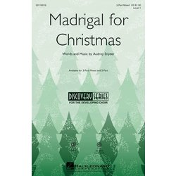 Madrigal for Christmas - VoiceTrax CD