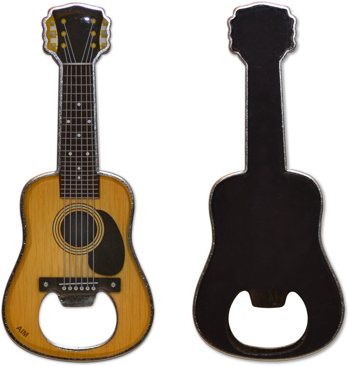 View larger image of Magnetic Acoustic Guitar Bottle Opener