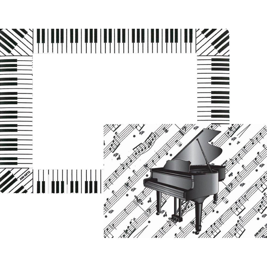 View larger image of Magnetic Sheet Music Picture Frame with Cutout - 5x7 / 4x6