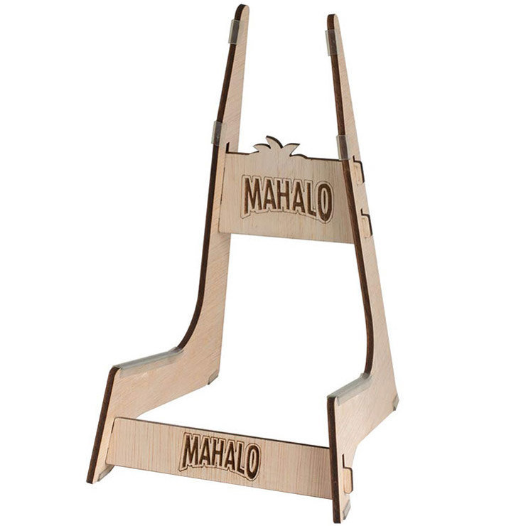 View larger image of Mahalo Wooden Engraved Ukulele Stand