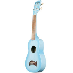 Makala Dolphin Soprano Ukulele - Light Blue Burst