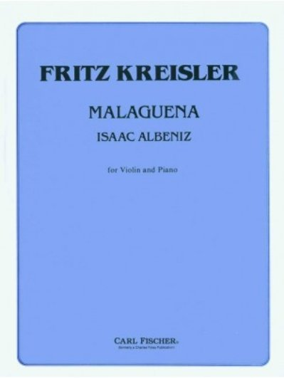 View larger image of Malaguena (Albeniz/Kreisler) - Violin