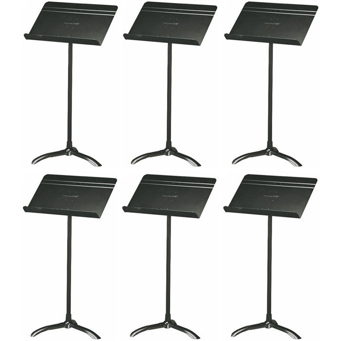 View larger image of Manhasset 48 Standard Symphony Music Stand - Black, Box of 6