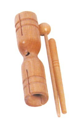 View larger image of Mano Percussion MP-WPK Double Tone Block with Beater
