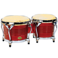 Mano Percussion Tunable Bongo - 7/8, Red Wood