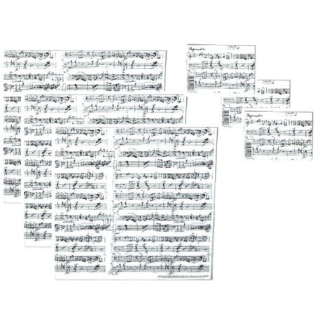 View larger image of Manuscript Gift Wrap - White
