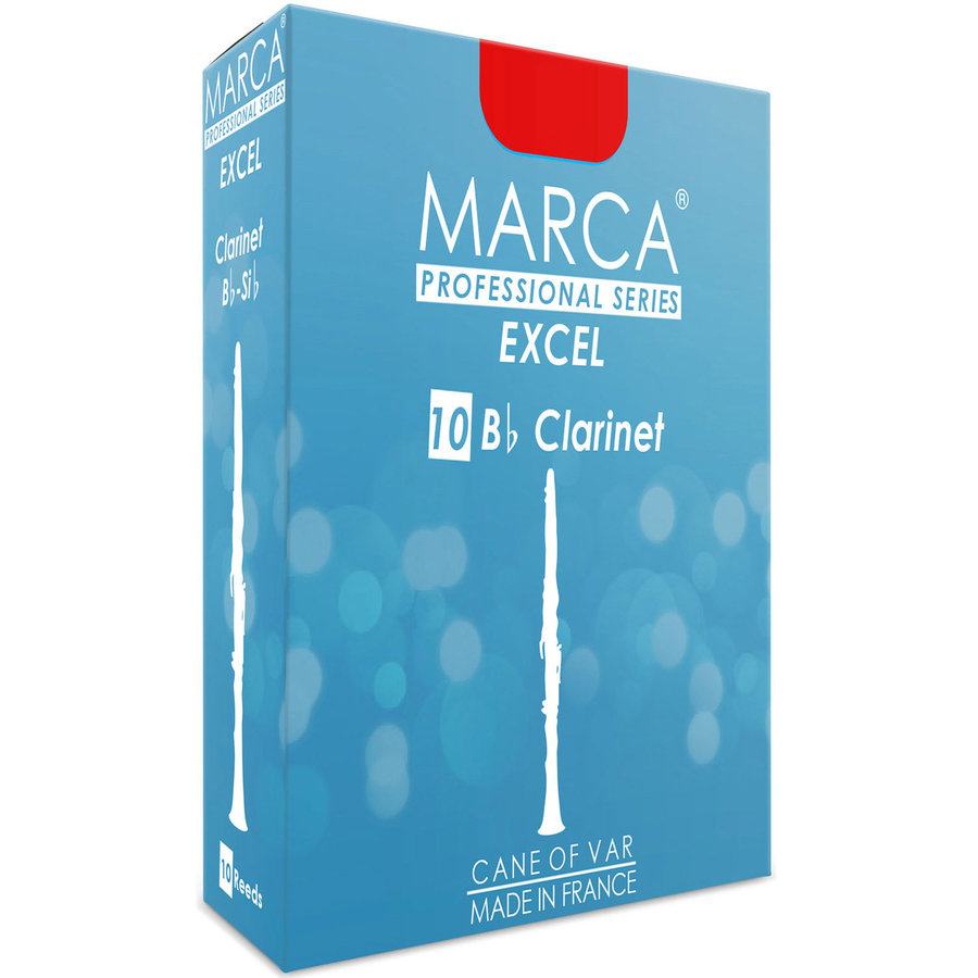 View larger image of Marca Excel Bb Clarinet Reeds - #2.5, 10 Box