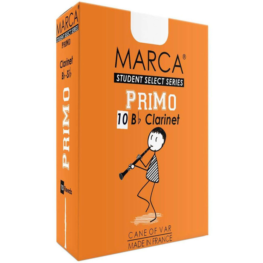 View larger image of Marca PriMo Bb Clarinet Reeds - #2, 10 Box
