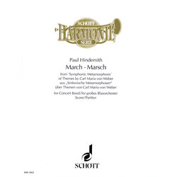 March from Symphonic Metamorphosis - Score & Parts, Grade 5