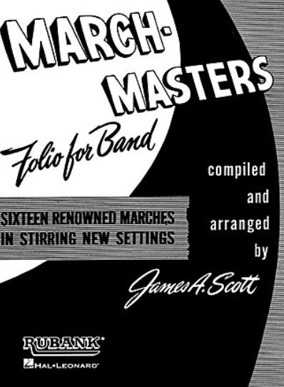 View larger image of March-Masters Folio For Band - Alto Sax 1