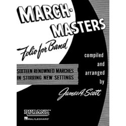 March-Masters Folio For Band - Trombone 1