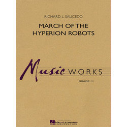 March of the Hyperion Robots - Score & Parts, Grade 1.5