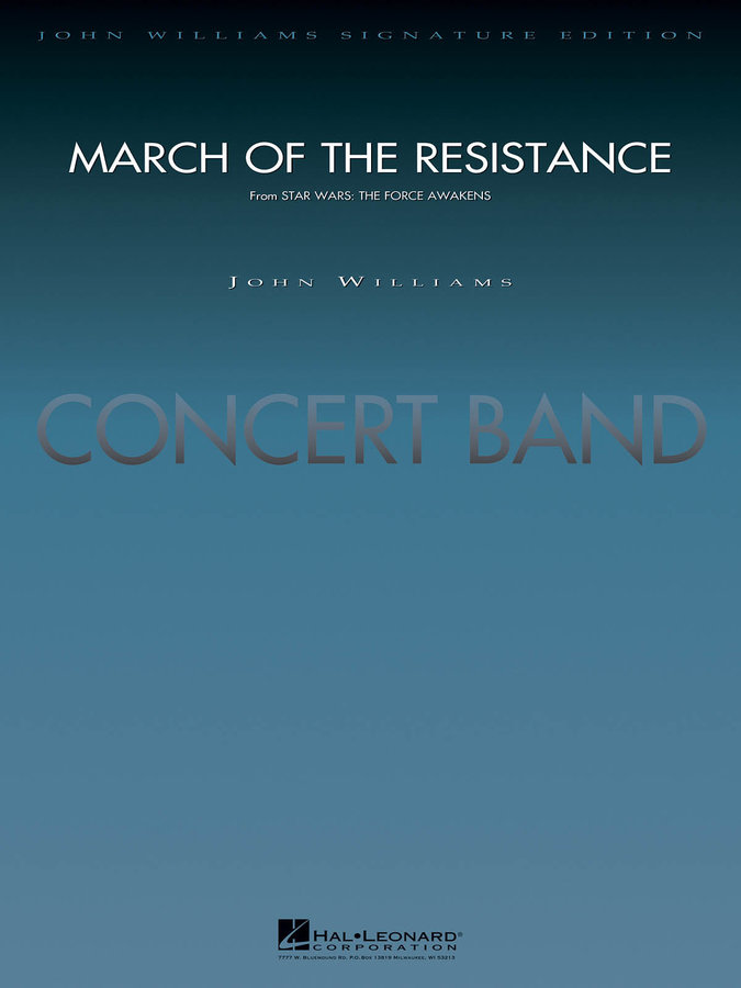 View larger image of March of the Resistance (Star Wars: The Force Awakens) - Score, Grade 5