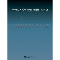 March of the Resistance (Star Wars: The Force Awakens) - Score & Parts, Grade 5