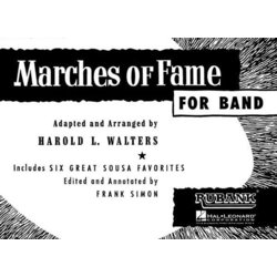 Marches of Fame for Band - Bass Clarinet