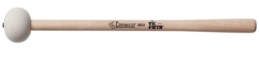 View larger image of Marching Bass Drum Mallets - Corpsmaster Series, For 26-28 Bass Drum