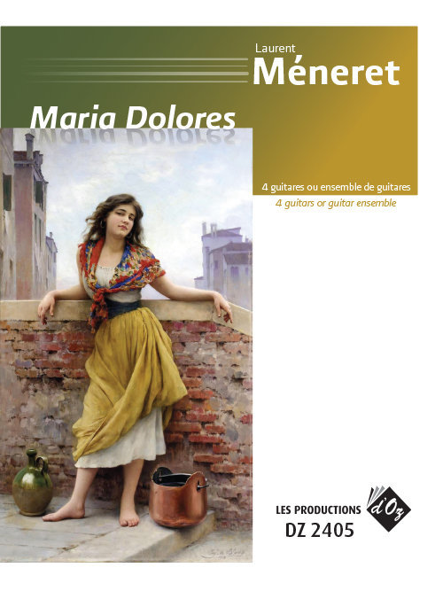 View larger image of Maria Dolores (Meneret) - Guitar Quartet