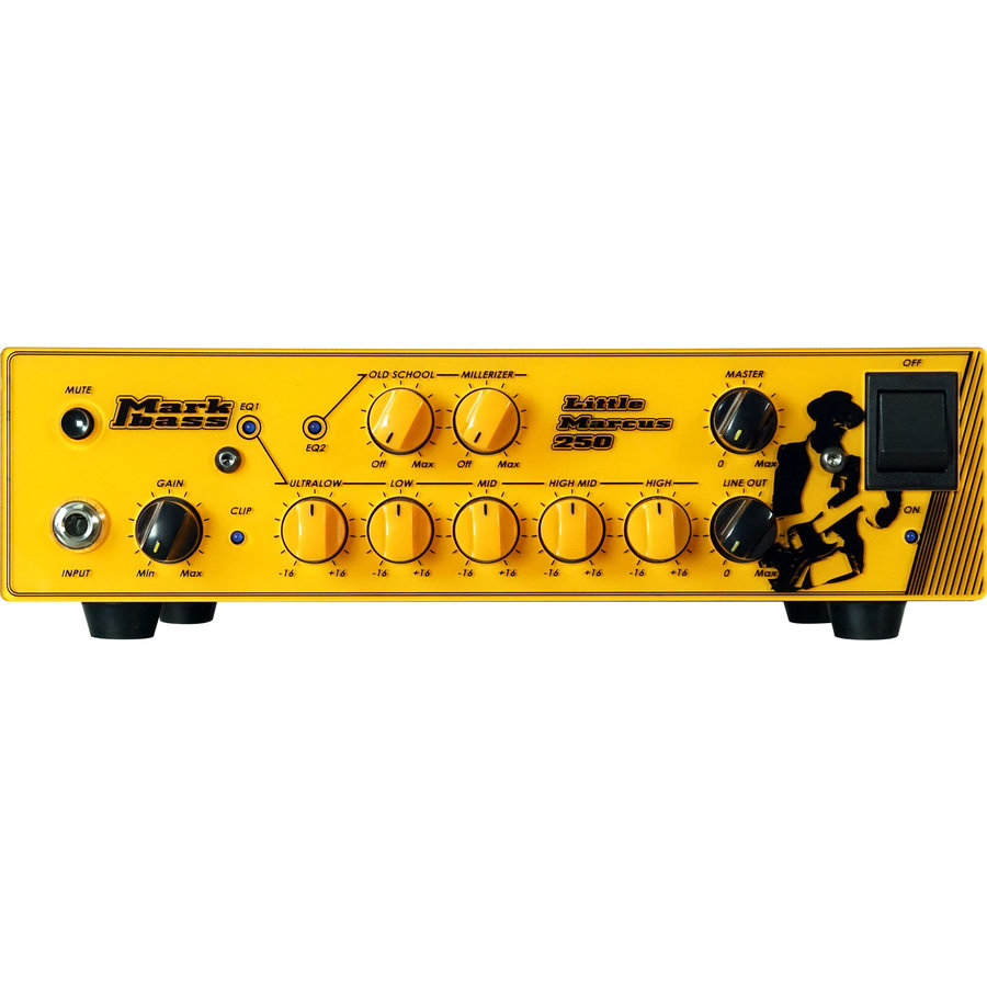 View larger image of Markbass Little Marcus 250 Marcus Miller Signature Bass Amp Head