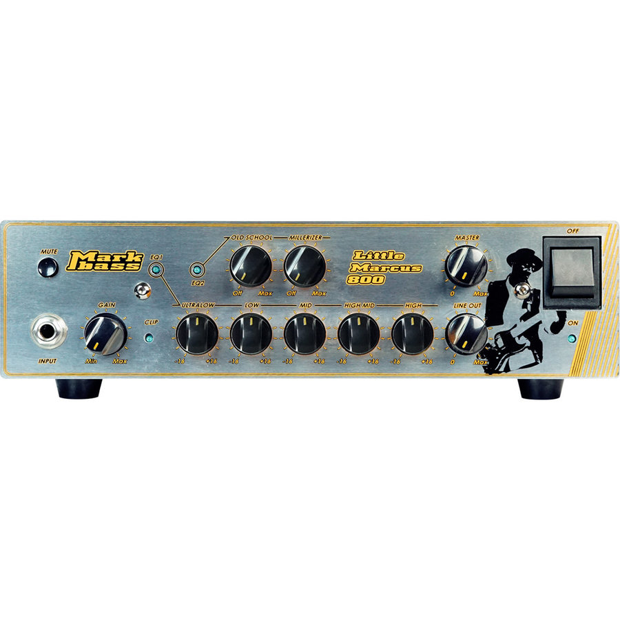 View larger image of Markbass Little Marcus 800 Marcus Miller Signature Bass Amp Head