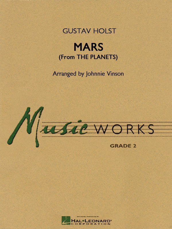 View larger image of Mars (The Planets) - Score & Parts, Grade 2