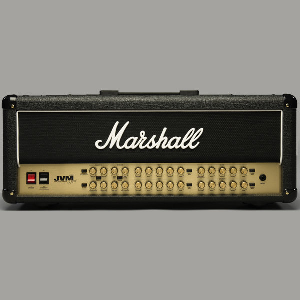 View larger image of Marshall Amps - JVM410H 4 Channel Guitar Amp - 100Watt Head