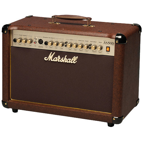 View larger image of Marshall AS50D 2-Channel Acoustic Guitar Combo Amp