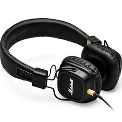 Marshall Major II Headphones - Black