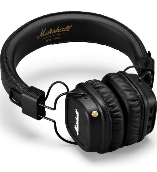 View larger image of Marshall Major II Wireless Bluetooth Headphones - Black