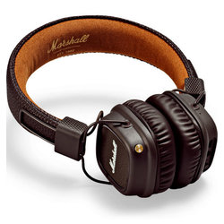 Marshall Major II Wireless Bluetooth Headphones - Brown