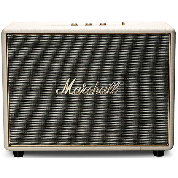 View larger image of Marshall Woburn Portable Bluetooth Speaker - Cream