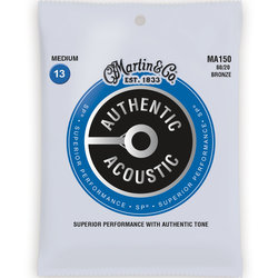 Martin Authentic SP Acoustic Guitar Strings - 80/20, Medium