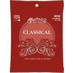 Martin Classical Guitar Strings - 80/20, Normal