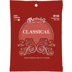 Martin Classical Guitar Strings - Silver Plated, Hard