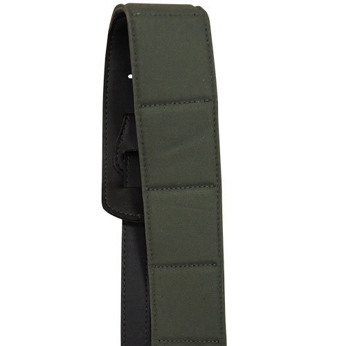 View larger image of Martin Canvas/Vegan Leather 4-Piece Guitar Strap - Camo Green
