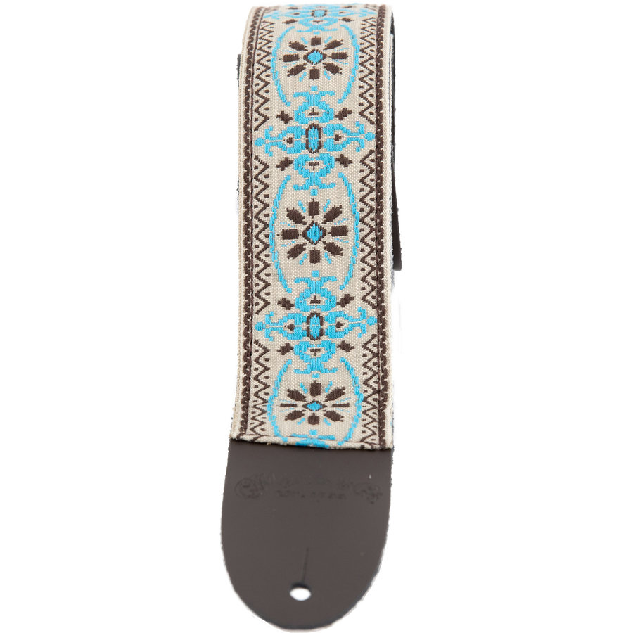 View larger image of Martin Retro Woven Guitar Strap - Blue