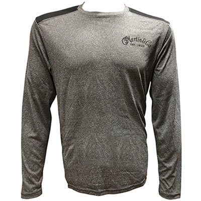 View larger image of Martin Long Sleeve T-Shirt - Charcoal, Small